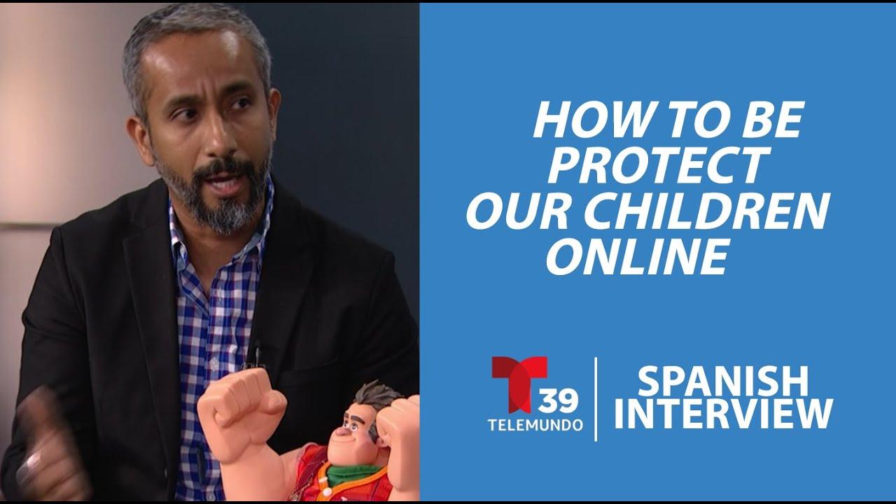 Internet Safety for Our Children on Telemundo 39 (In ...