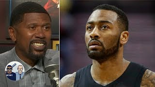 Jalen Rose has a one-word reaction to John Wall's latest comments | Jalen & Jacoby