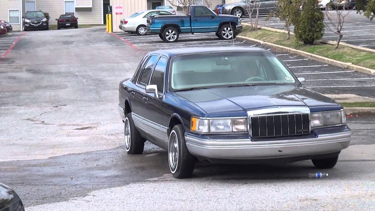1991 Lincoln Town Car Switch Test - YouTube