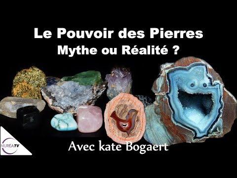Le Pouvoir des Pierres   Mythe ou Réalité   » avec Kate Bogaert - NURÉA TV 698d5c8c7a8c