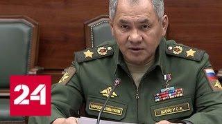 Шойгу встретился с начальником Объединенного штаба Центрального военного совета Китая - Россия 24