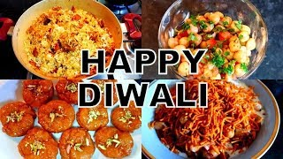 INDIAN SPECIAL LUNCH ROUTINE ON DIWALI 2018 || DIWALI DECOR || DIWALI SWEETS & SNACKS