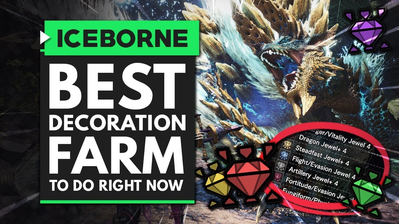 Monster Hunter World Iceborne | Best Decoration Farm You Should Be Doing Right Now thumbnail