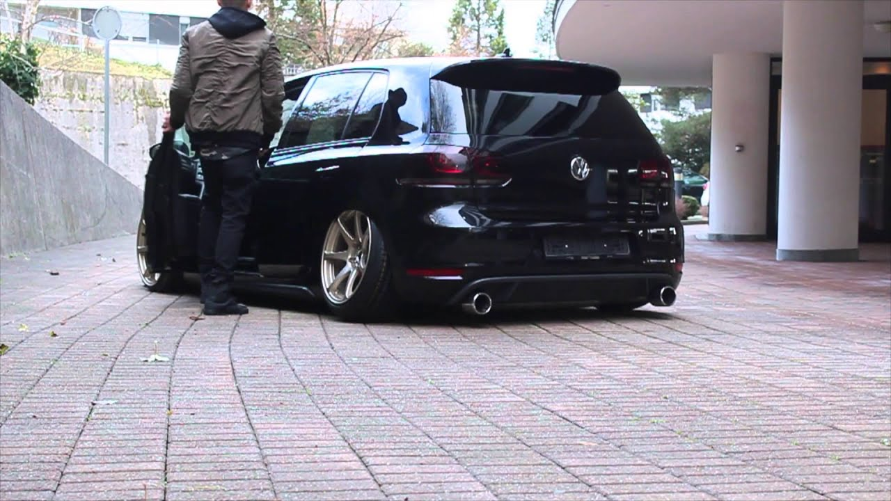 volkswagen golf 6 gti air ride youtube. Black Bedroom Furniture Sets. Home Design Ideas