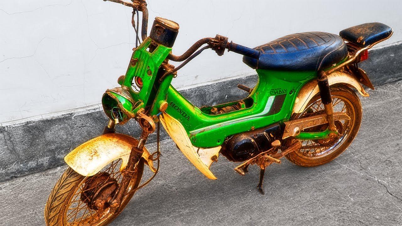 1980 Honda Chaly Full Restoration