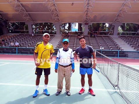 Kejutan Warnai Hari Pertama Invitasi Petenis Putra Peringkat Nasional, Dua Pemain Davis Cup Indonesia Tumbang