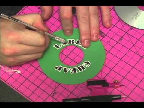 Make Your Own CD and DVD Labels CHEAP!!! - YouTube