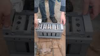 Складання акумуляторних банок в секції ПК-55