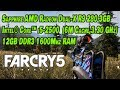 Far Cry 5 AMD R9 280X 3 GB -  Core™ i5-2500