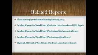 Bharat Book Presents : Plywood, Veneered Panels And Similar Laminated Wood Trends And P