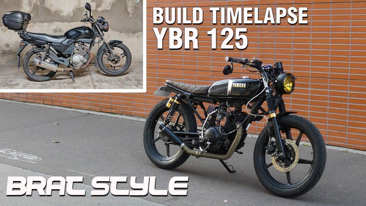 Cafe Racer Timelapse Build Yamaha Ybr