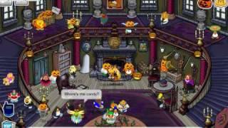 Club Penguin Halloween Party! (Including Scavenger Hunt) (October.27.2009)