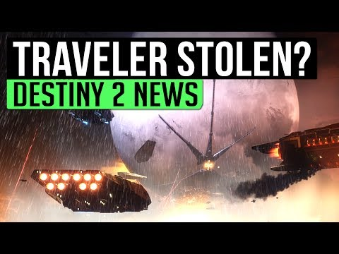 Destiny 2 News | ARE CABAL STEALING THE TRAVELER? - Story Hints in New Destiny 2 Image!