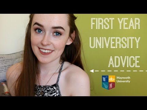 FIRST YEAR UNIVERSITY ADVICE