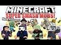 Minecraft SUPER SMASH MOBS! mit GLP, Zombey & PXLWLF    ungespielt