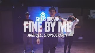 JUNHO Class | @chrisbrown - Fine By Me | SOULDANCE 쏘울댄스