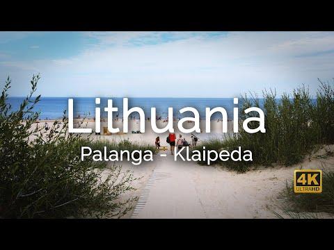Palanga, Klaipeda, Curonian Spit - Lithuania - travel video 4k