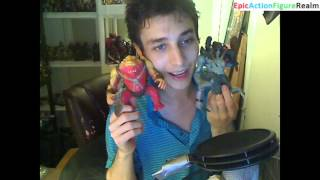 Unboxing The Small Soldiers Gorgonites Action Figure Lot (Freakenstein, Ocula, Nibble, & Flatchoo)