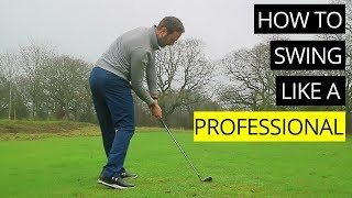 HOW TO SWING LIKE A PROFESSIONAL GOLFER - EACH PART OF THE GOLF SWING IN SLOW MOTION