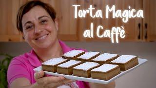 Magic coffee cake - easy recipe homemade by Benedetta