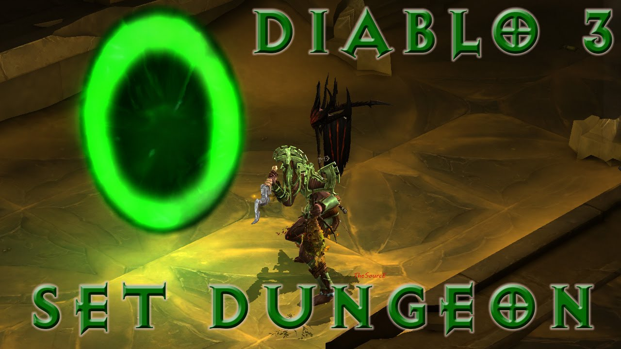[Diablo 3] Witch Doctor Set Dungeon Locations!!! [ No Commentary ]