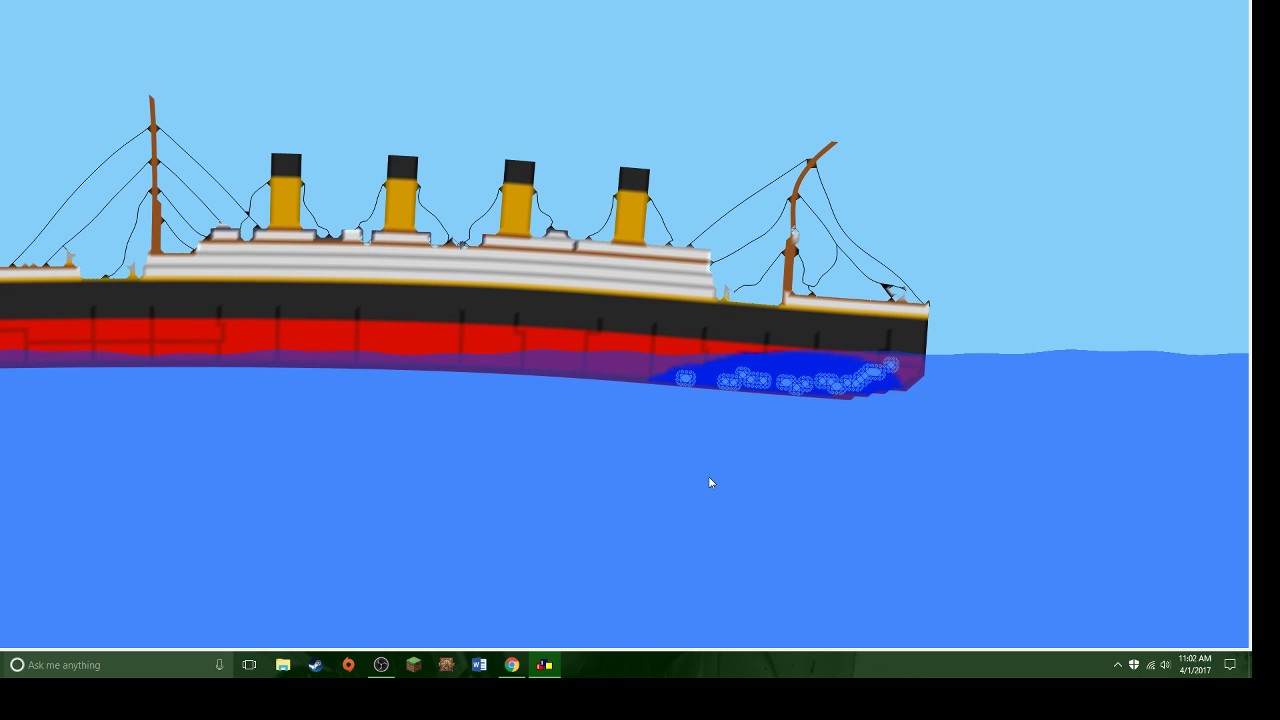 Sinking Ship Simulator1 Why Titanic Not Sink Right