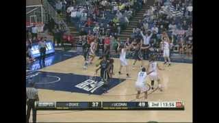 UCONN WBB DUKE HIGHLIGHTS