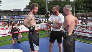 West Berks White Collar Boxing Counter Attack Bout 4 Connor Reed Vs Steve Harris