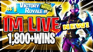 NEW* RAVAGE SKIN! TOP PS4 SOLO PLAYER! | 1,733 SOLO WINS | Fortnite Battle Royale LIVE
