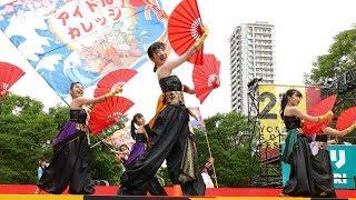 第27回YOSAKOIソーラン祭り、大通り西8丁目会場にて.