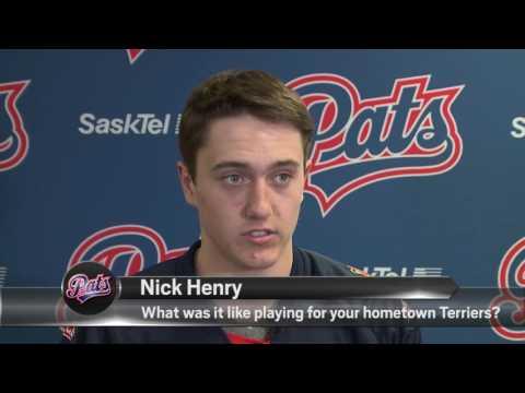 Nick Henry   Not Signed