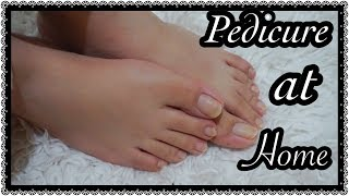 How to do Pedicure at Home in 5 easy and simple steps ( Urdu / Hindi)