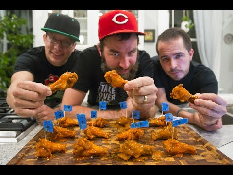 CAROLINA REAPER ROULETTE CHALLENGE! | Chicken Wings Q&A!