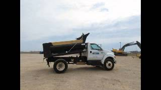 For Sale 2007 Ford F750 S/A 5 Yard Dump Truck Cummins 6-Speed A/C bidadoo.com