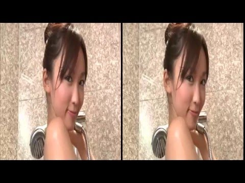 vr 3d Japanese Girl  Free Shower side by side