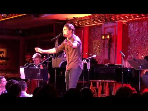 "Antonio Cipriano @ Feinstein's 54 Below with Derek Klena ""Goodbye"" Catch Me If You Can"