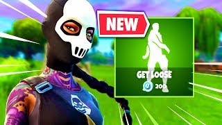 "🔴*NEW* ""GET LOOSE"" EMOTE in Fortnite! // Solos & Random Duos!"