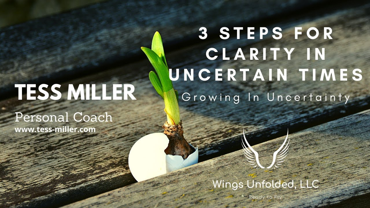 3 Steps to Gain Clarity in Uncertain Times