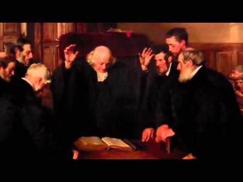 Ordination of Elders Scottish Kirk Painting National Gallery Edinburgh Scotland