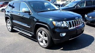 2012 Jeep Grand Cherokee Overland 5.7 4X4 Walkaround, Start up, Exhaust and Overview