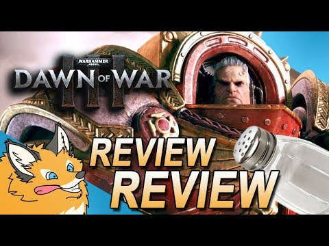 Dawn Of War 3 - Most Salty Review Bombs