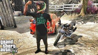 GTA 5 REAL LIFE CJ MOD #112 -TRANSPORT THE STUFFS!!!(GTA 5 REAL LIFE MODS/ THUG LIFE) WORST DRIVER