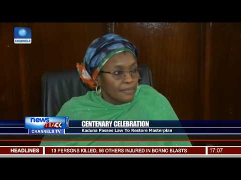 Kaduna Passes Law To Restore Centenary Celebration Masterplan