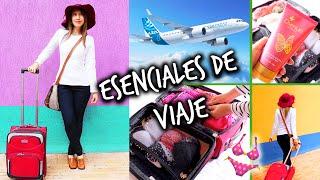 Mis esenciales, equipaje & outfit para viajar!
