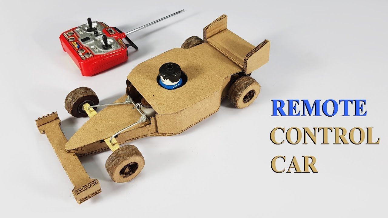 How to make a car out of cardboard easy