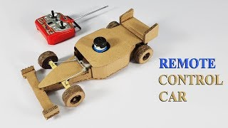 How to make Remote Control Car at home