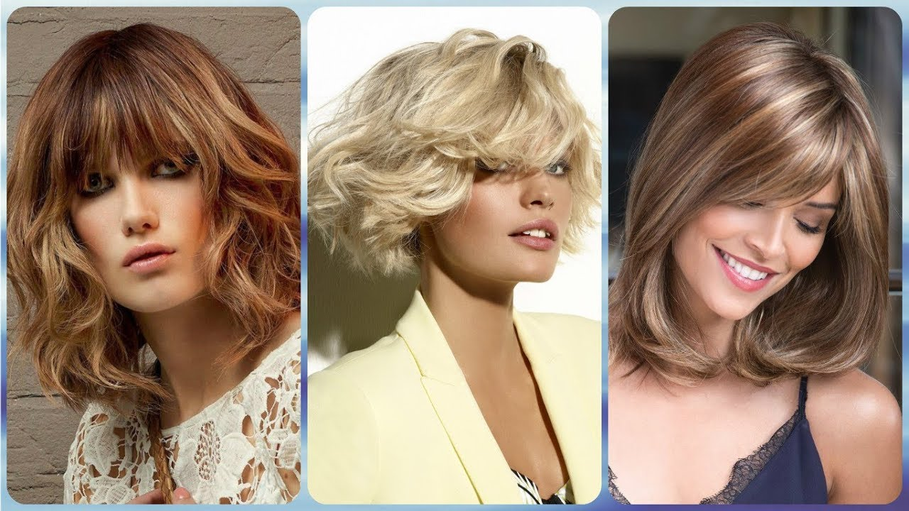 2019 Hairstyles For Over 50s: 20 🌸 Fresh 🌸 Ideas For Hairstyles Medium Bob 2019