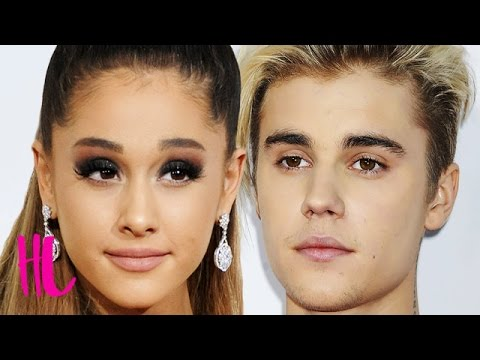 Ariana Grande Reacts To Justin Bieber Feud Rumor - VIDEO