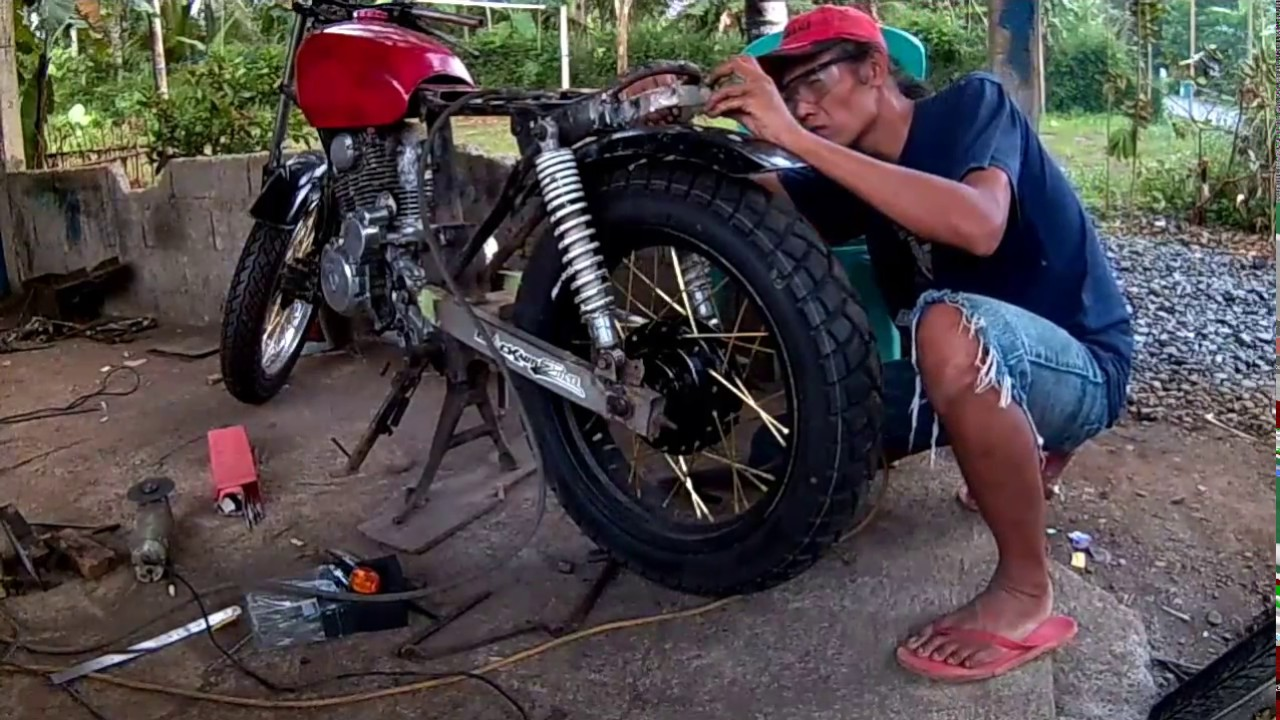 Modifikasi JapStyle Honda Tiger Part 3 YouTube