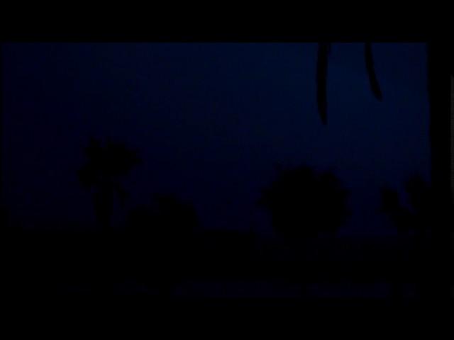 Tempesta de nit des del Pont de Petroli de Badalona - Setembre 2016